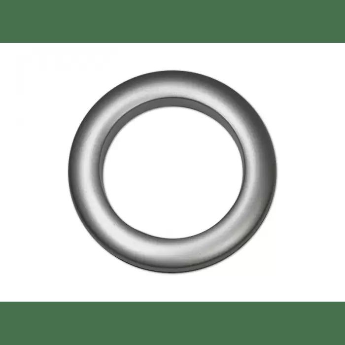 oeillets clipsables diametre 55mm gris anthracite pack de 8