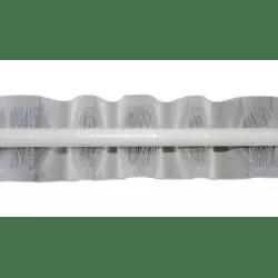 galon fronceur plis vague passe tringle 100mm largeur variable vendu au ml