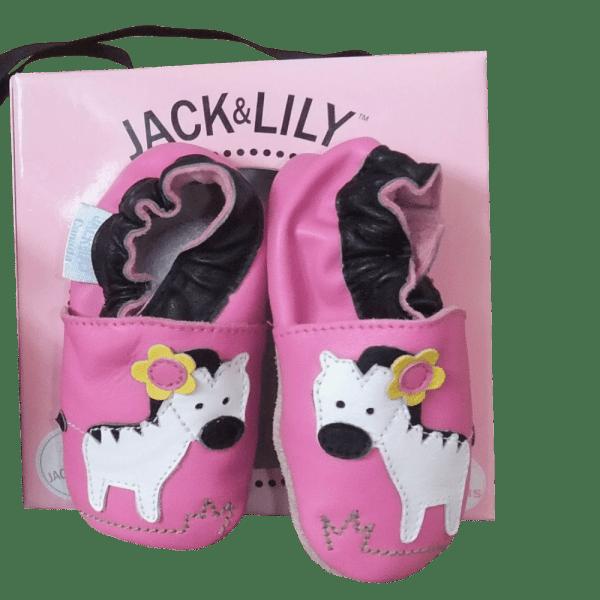 Jack & Lily Babyschuhe Zebra