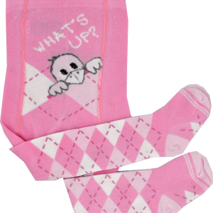 maximo babystrumpfhose rosa mächen vogelmotiv