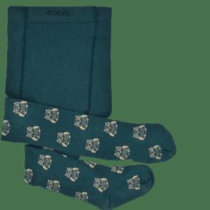 kinderstrumpfhose ewers glitzer eulenmotiv grün