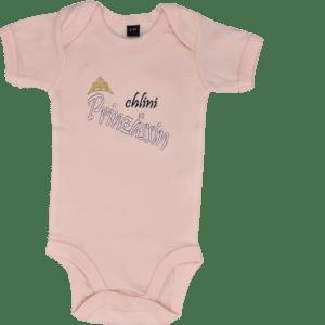 Baby Body mit Spruch Prinzessin rosa