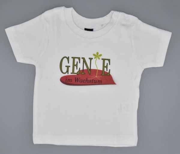 Baby T-Shirt Genie weiss