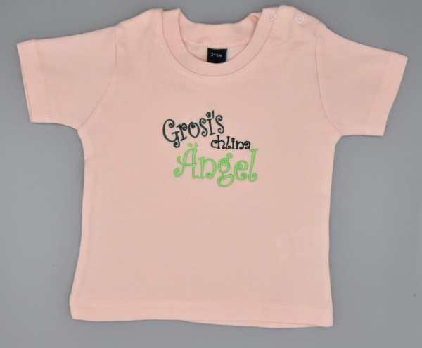 Baby T-Shirt Grosi rosa