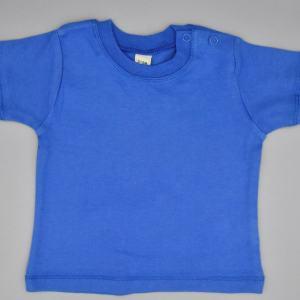 Baby T-Shirt blau 3-6 Monate
