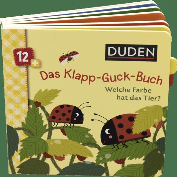 Klapp Guck Buch Farben