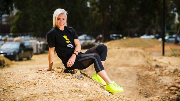 Buchanan won her first mountain bike world championship at home in Canberra at Stromlo Forest Park.