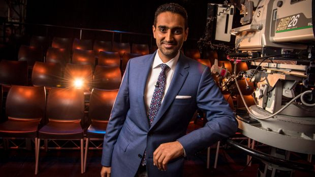 The group of visiting journalists spoke with Waleed Aly, the host of The Project.