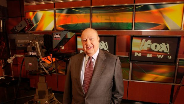 The network said it is dropping the slogan due to its association with former chief Roger Ailes.