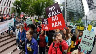 Image result for Trump travel ban : U.S. Supreme Court revives parts of executive order
