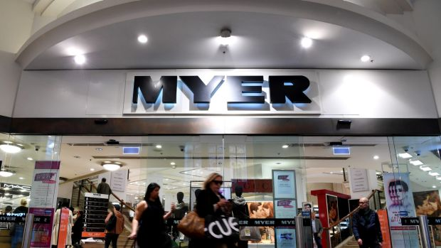 Myer is under pressure from its largest shareholder, Premier Investments.