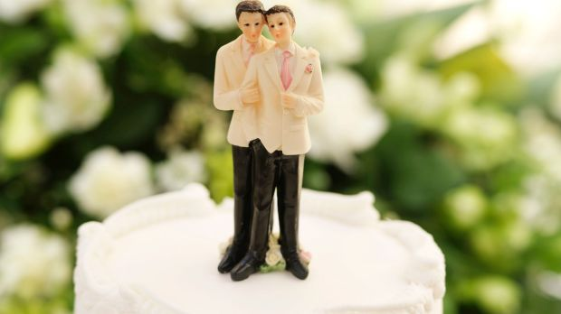 Same-sex couples are more likely to have money to spend on lavish weddings.