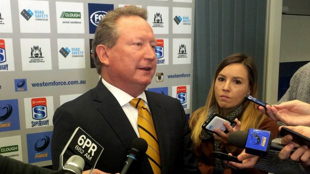"Chairman Andrew Forrest: ""There is a really decent talent pool throughout the echelons of Fortescue."""