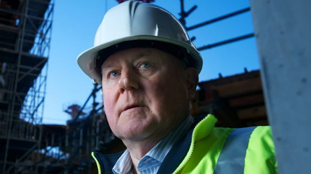 Former construction watchdog boss Nigel Hadgkiss