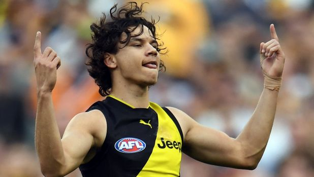 Richmond star Daniel Rioli comes from the Tiwi Islands in the Torres Strait.