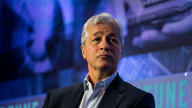 JP Morgan chief has backed down from his controversial claim that bitcoin was a 'fraud'.