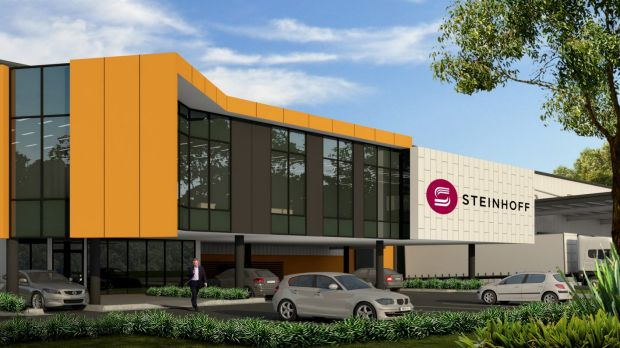 Steinhoff International Holdings has almost doubled the size of its warehouse facilities at Horsley Drive Business Park.