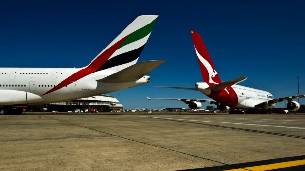 Qantas and Emirates are back at the negotiating table.