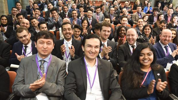 Delegates at the CareerSeekers conference.