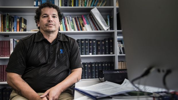 University of Wollongong lecturer Dr Martin O'Brien.