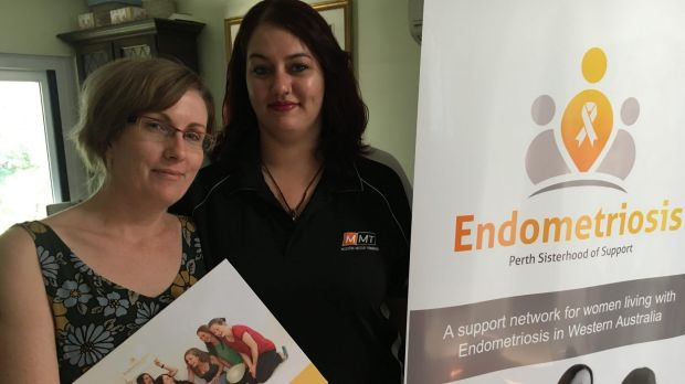 Endometriosis sufferers Joanne McCormick and Monique Alva run a support group for Perth women.