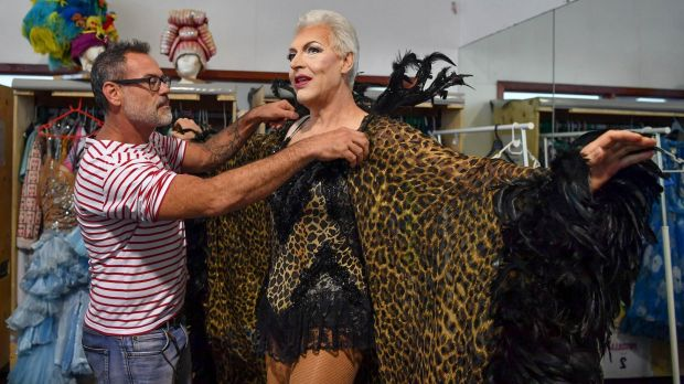 Rehearsals for Priscilla, Queen of the Desert - the musical which returns to the stage a decade after its Australian ...