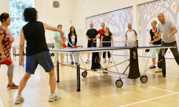 Table Tennis …a great place to let off steam!