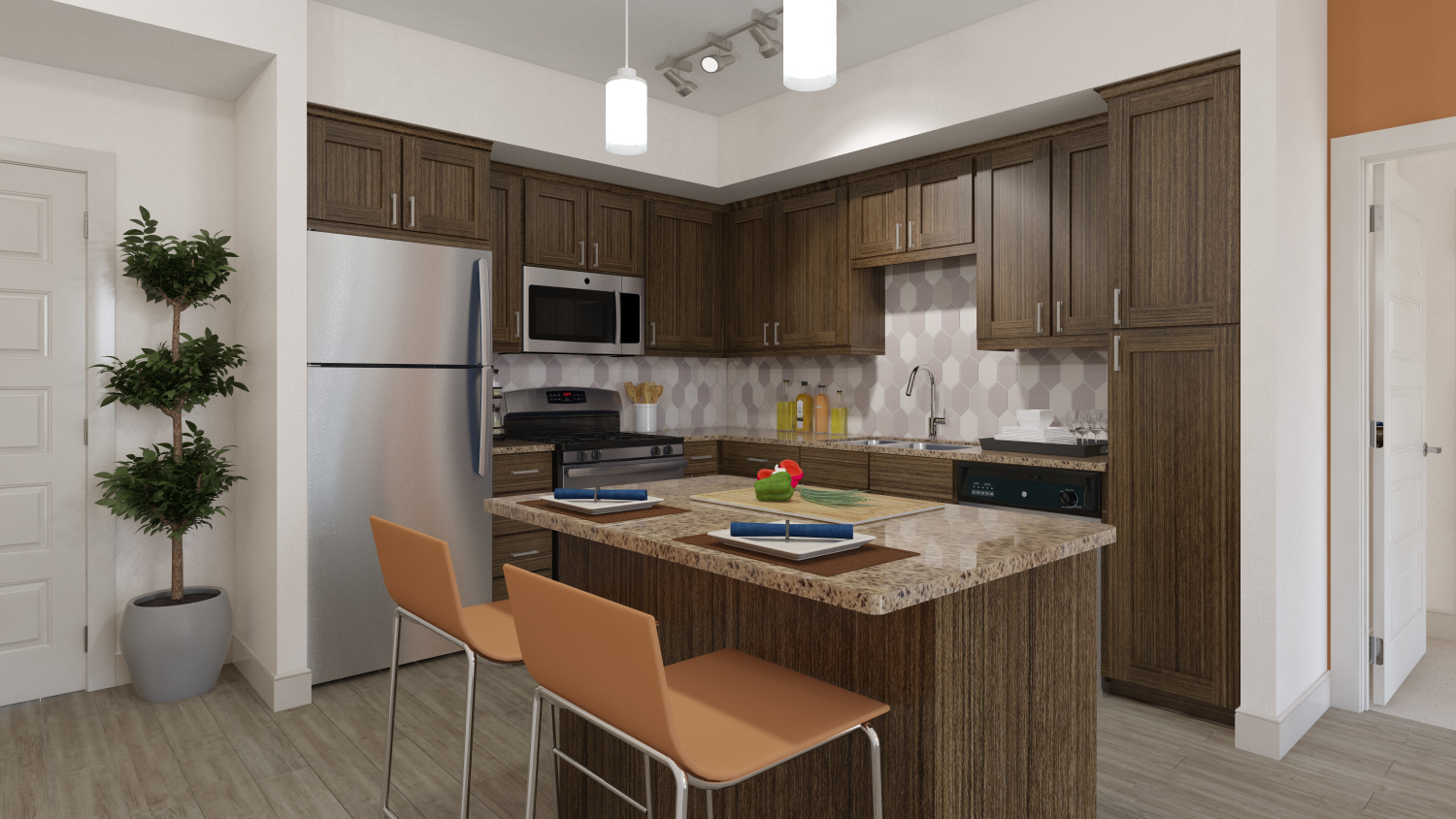 Perfection Crafted At 808 West San Jose Apartments Fairfield Residential