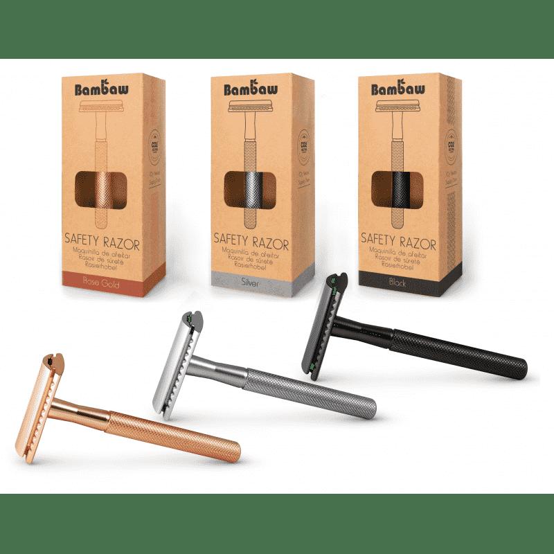 stalen scheermes / safety razor van Bambaw