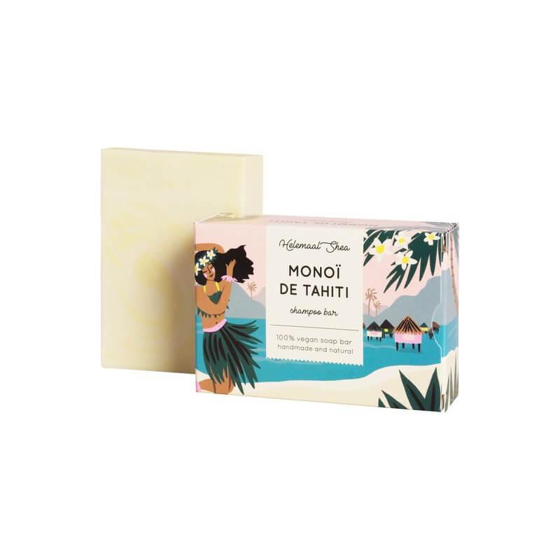 haarzeep Monoi de Tahiti HelemaalShea