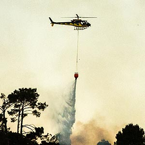 Aerial Firefighting - Environmental Helicopter Services