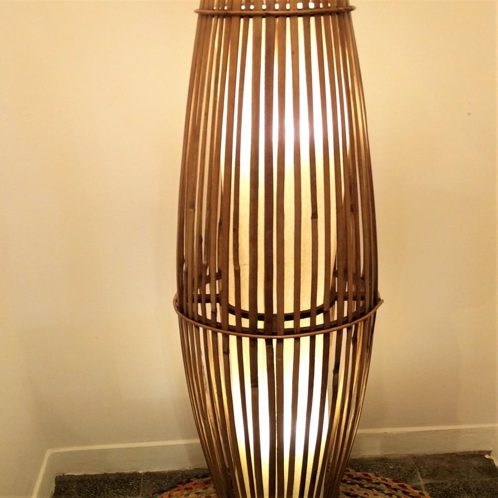 tall tube floor lamp