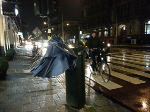 Death of an Umbrella in Amsterdam