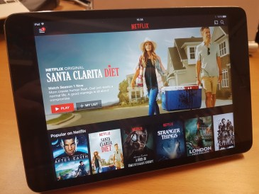 Apple iPad with Netflix