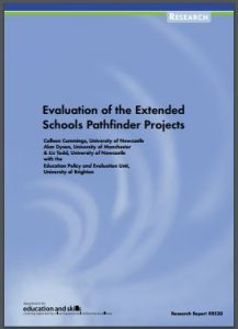 Thumbnail: extended schools pathfinder