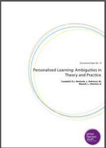 Thumbnail: personalised learning