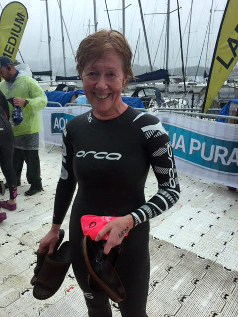 Naomi's Great North Swim for Fairoak