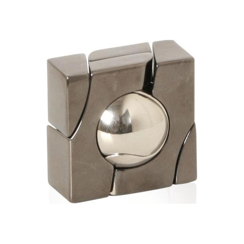 decouvrez le casse tete metal marble de la marque hanayama