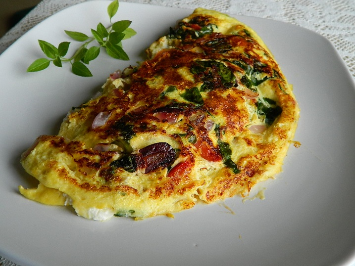 Healthy Greek Omelet