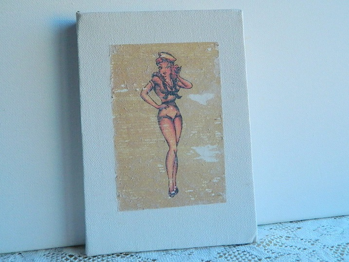 Tattooed Martha - Sailor Jerry Bottle Label Art (14)