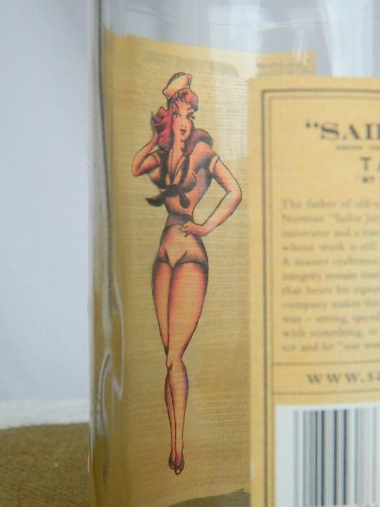 Tattooed Martha - Sailor Jerry Bottle Label Art (3)