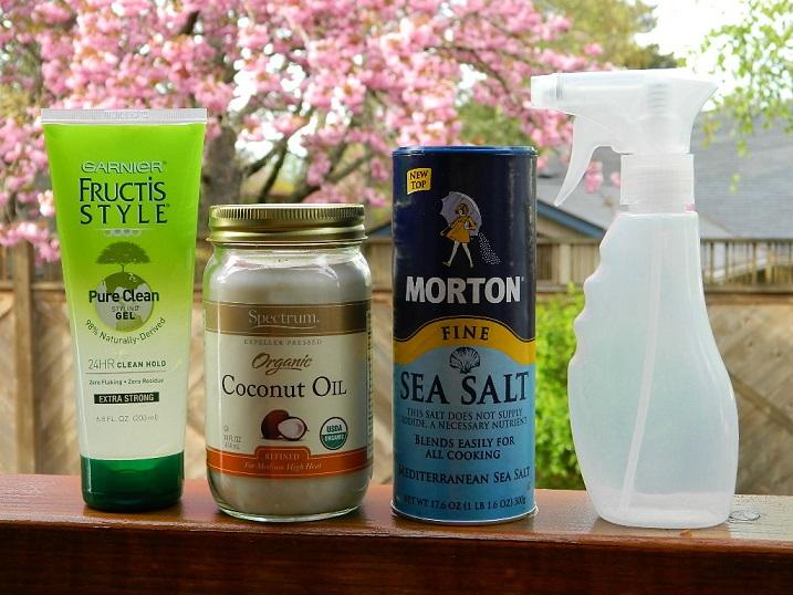 Sea Salt and Coconut Oil Wave Spray