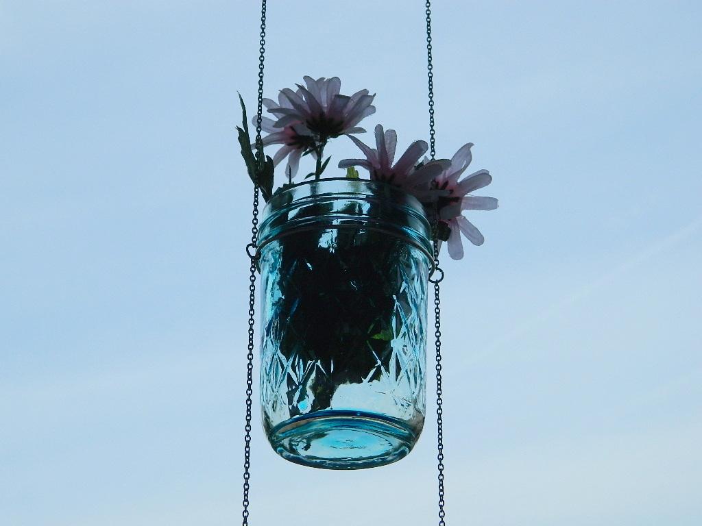 Tattooed Martha - Hanging Mason Jar Planters (13)
