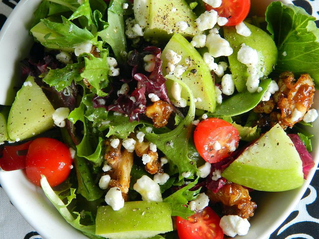 Tattooed Martha - Mixed Greens Salad with Apple Cider Vinaigrette (8)