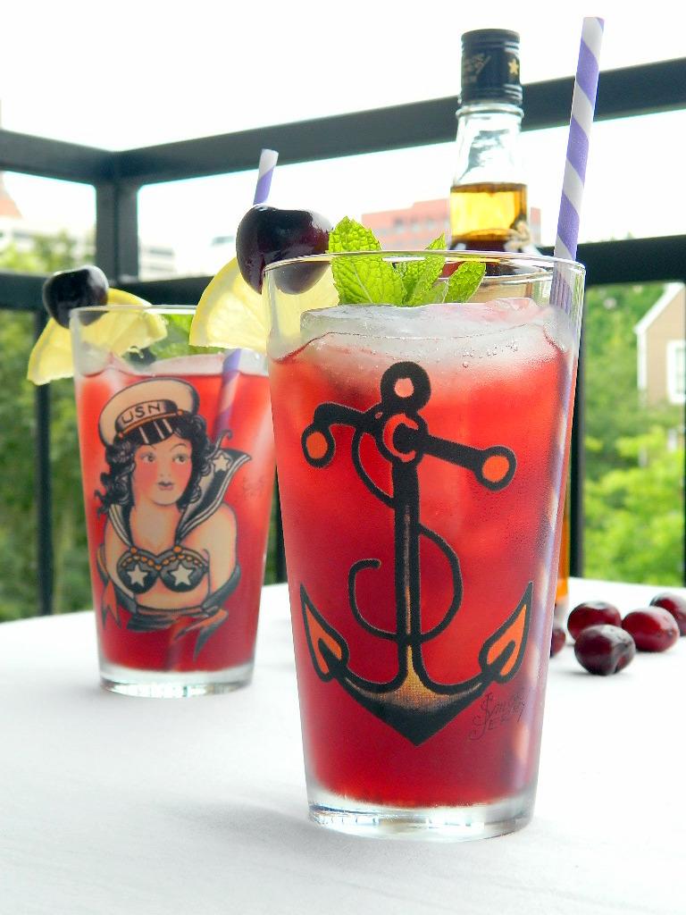 Black Cherry Jerry Tea