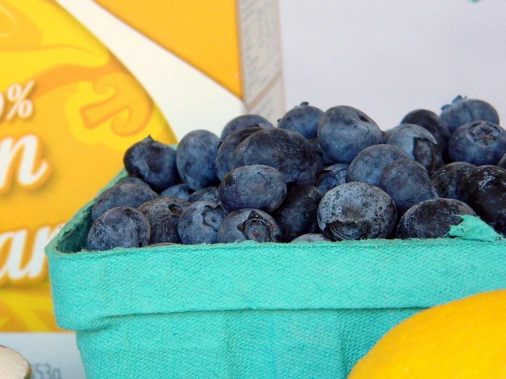Tattooed Martha - Fluffy Buttermilk Pancakes with Homemade Blueberry Sauce (3)