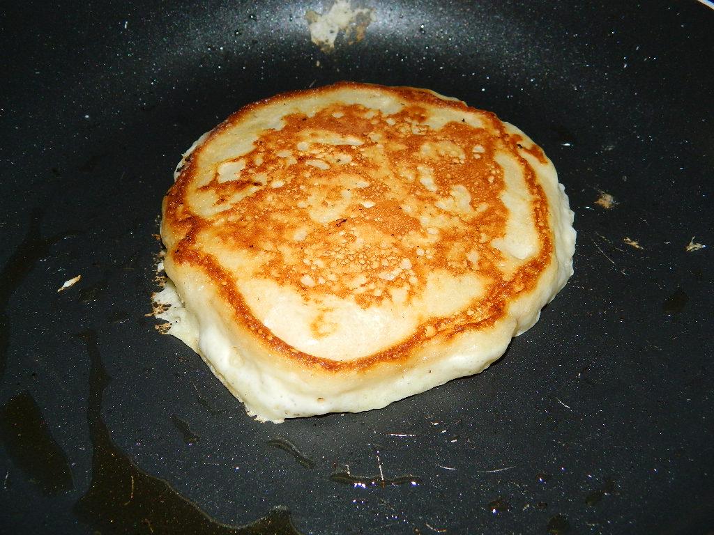 Tattooed Martha - Fluffy Buttermilk Pancakes with Homemade Blueberry Sauce (7)
