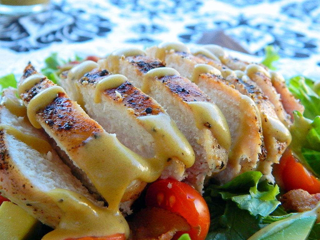 Tattooed Martha - Grilled Chicken Salad with Tangy Honey Mustard Dressing (12)