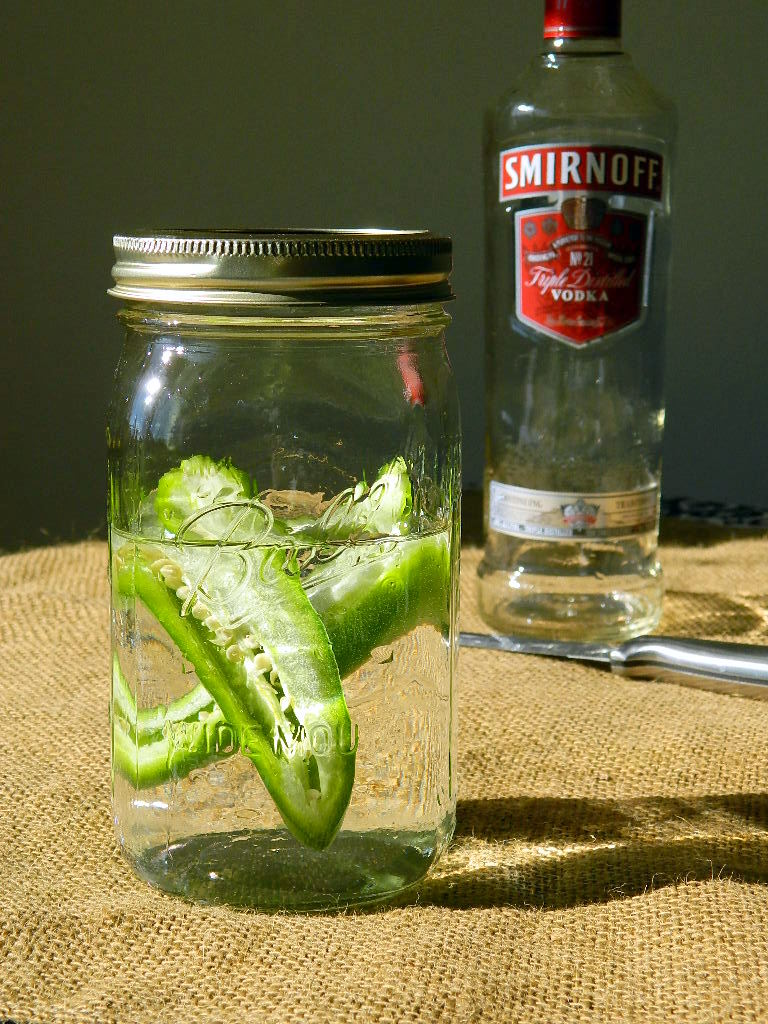 Jalapeno Infused Vodka