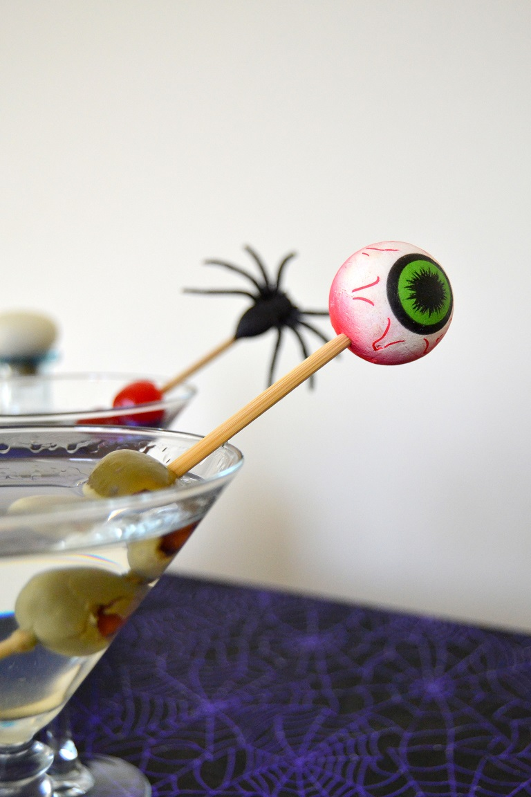 DIY Halloween Cocktail Stir Sticks